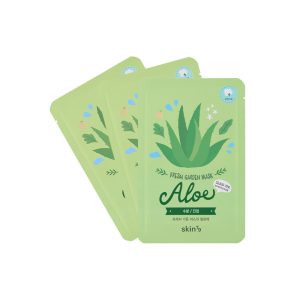 Pack 3 Mascarillas Hidratantes Fresh Garden – Aloe