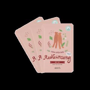 Pack 3 Mascarillas Hidratantes Fresh Garden – Red Ginseng