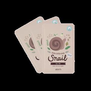 Pack 3 Mascarillas Hidratantes Fresh Garden – Snail