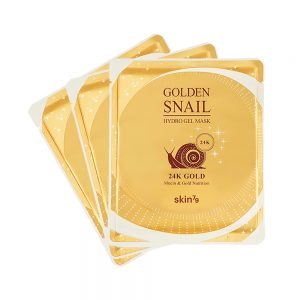 Golden snail gel mask 24k X3