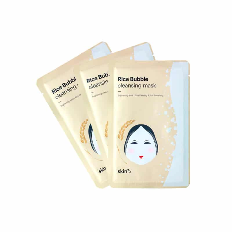Pack 3 Rice Bubble Cleansing Mask